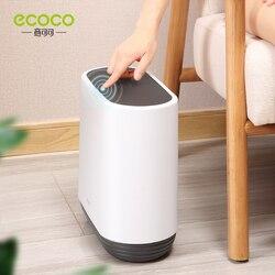 10L Trash Can Pressing Type Trash Bin Toilet Waste Dustbin Basket Garbage Bucket Kitchen Household Bathroom Toilet Waterproof