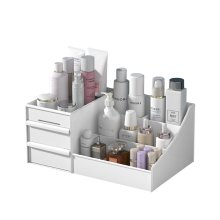Cosmetic-Storage-Box Shelf Dressing-Table Drawer Skin-Care Practical Household Multi-Layer