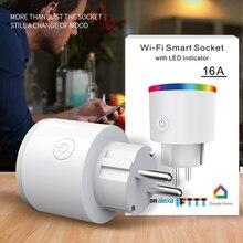 Smart Plug Wifi Socket Tuya Life App EU France US AU UK Poland Korea Alexa Google Home Mini IFTTT