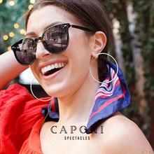 CAPONI Unisex Polarized Sun Glasses Luxury Design Brands Couple Gentle