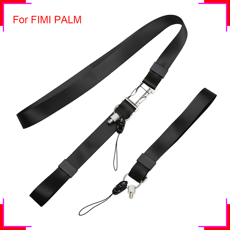 FIMI Gimbal Camera Portable Lanyard For FIMI PALM Pocket Camera Wrist Neck Handheld Multifunctional Strap For DJI OSMO XiaoMi