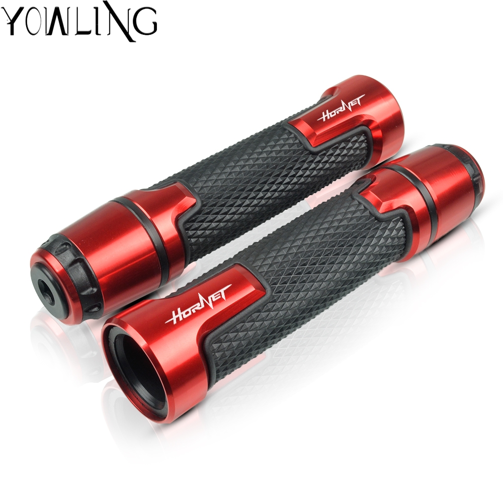 Motorcycle handle grip For <font><b>HONDA</b></font> <font><b>hornet</b></font> 250 <font><b>600</b></font> 900 CB400 CB599 CB600 <font><b>Hornet</b></font> CB600F 2007 <font><b>2008</b></font> 2009 2010 2011 2012 handlebar grip image