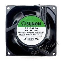 Newgenuine Voor Sunon Fan SF23080A 2083HBL.GN 8038 220V 8Cm Fan