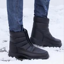 Winter Shoes Snow-Boots Platform Waterproof Non-Slip Ankle Big-Size Warm 35-46 Men