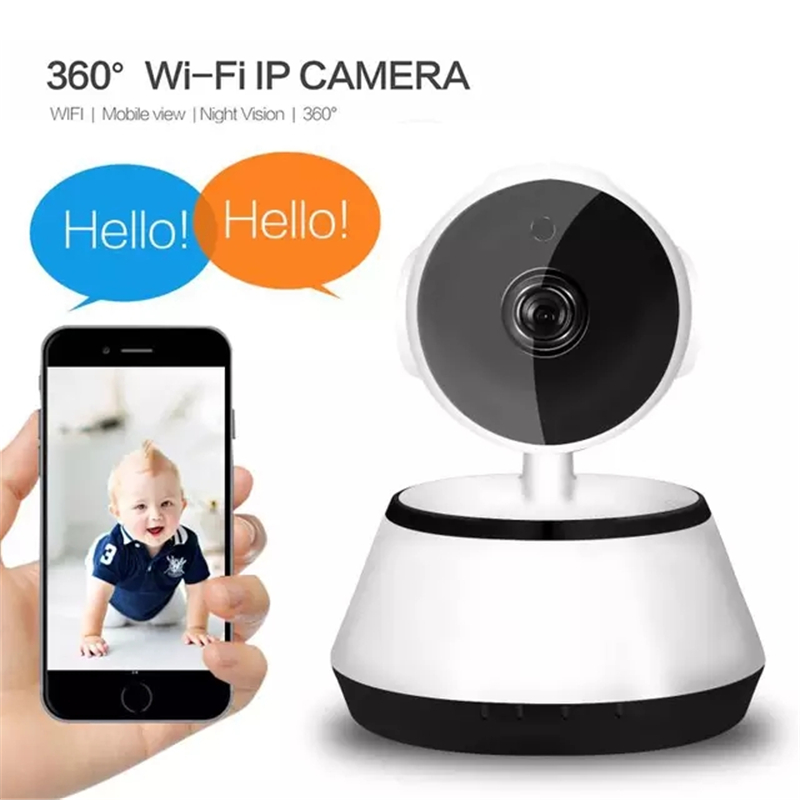 HD 1080P IP Camera Wireless Surveillance Camera Night Vision Two-way Voice 2.4Ghz Wifi Indoor Smart Home Security Baby Monitor