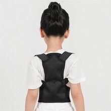 Student Spine Back Posture Corrector Children Orthopedic Belt for Shoulder Child Support Corset with Steel Plate Brace