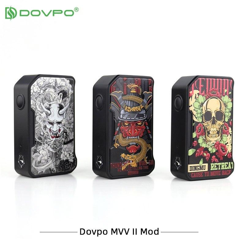Nova Chegada M VV Dovpo II Box Mod dupla 18650 Caixa Mod 1.0V a 8.0V máximo 280W E Cigarros Vape Vape com Tipo-C Porta