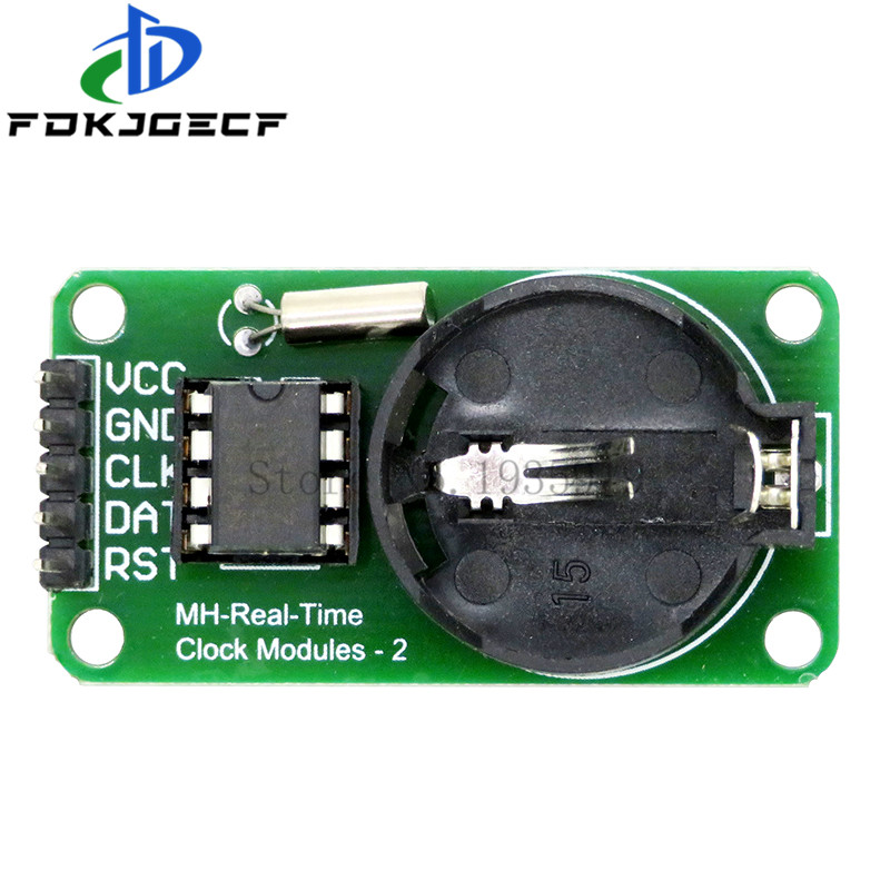 1pcs/lot RTC <font><b>DS1302</b></font> Real Time <font><b>Clock</b></font> Module For AVR ARM PIC SMD for Arduino image