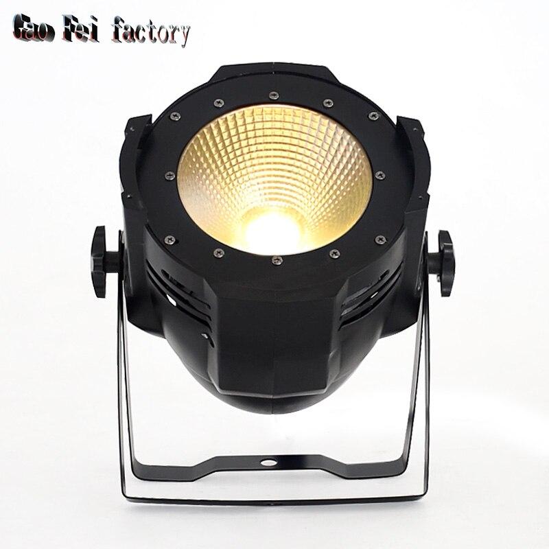 LED COB de 100W Can/2 en 1 DMX blanco cálido blanco + 2 en 1 100w COB LED Par/LED dmx Luz de escenario de lavado/ktv dj iluminación de discoteca