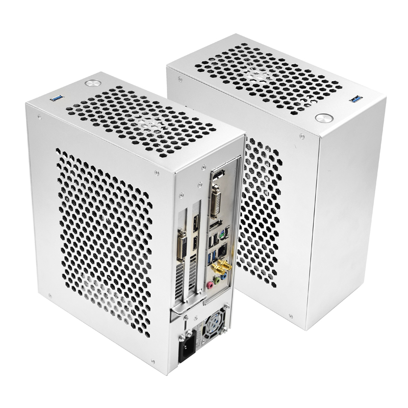 PC ITX MINI Gaming Small Case All Aluminum Suitcase Portable HTPC Desktop Computer Empty Chassis S3 C