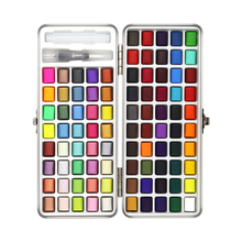 Glitter Paint-Supplies Watercolor-Paint Drawing-Art Solid 72/90color Neone Seamiart Basic