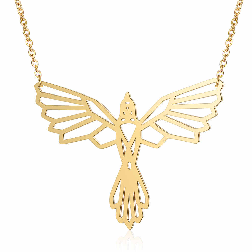 100% Real Stainless Steel 40cm Phoenix Long Necklace Trend Jewelry Necklaces Special Gift Personality Jewelry