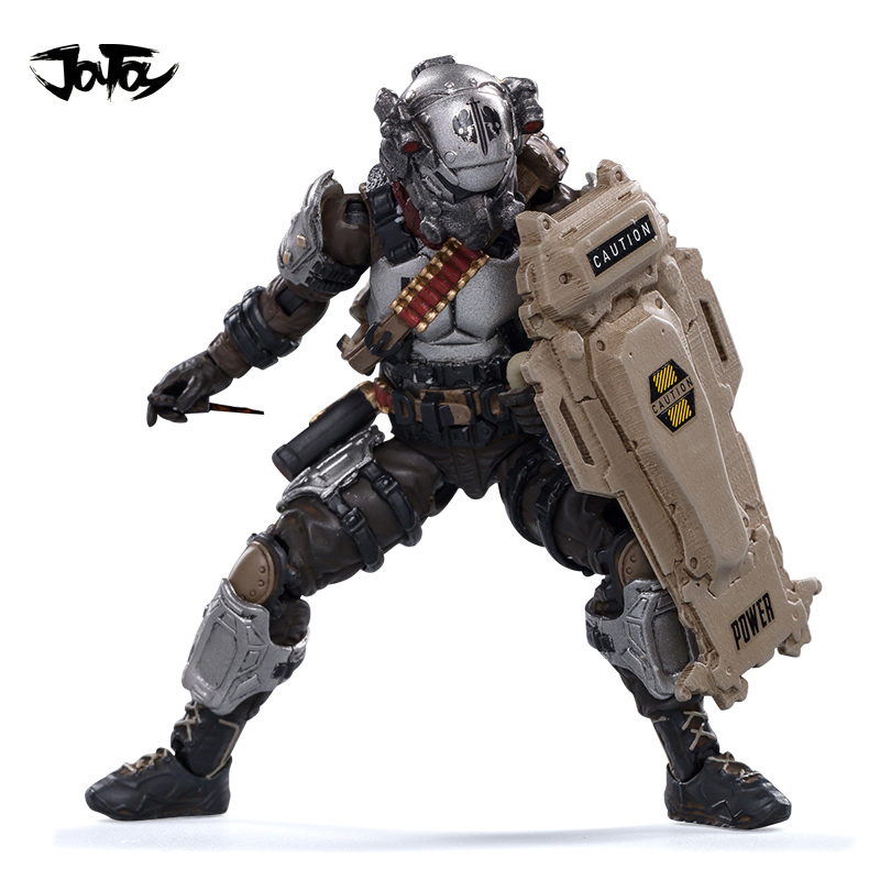 JOYTOY 1/18 3.75 Action Figure Skeleton Forces Hell's Fifth Company Single Anime Collection Model Toy For Gift Free Shipping