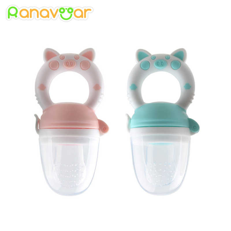 Baby Nipple Fresh Food Silicone Baby Pacifiers Feeder Kids Fruit Feeding Nipple Safe Supplies Nipple Teat Pacifier Bottles