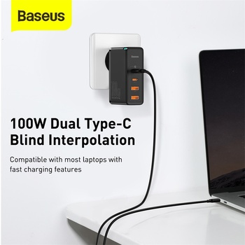 Зарядное устройство Baseus 100W GaN 3
