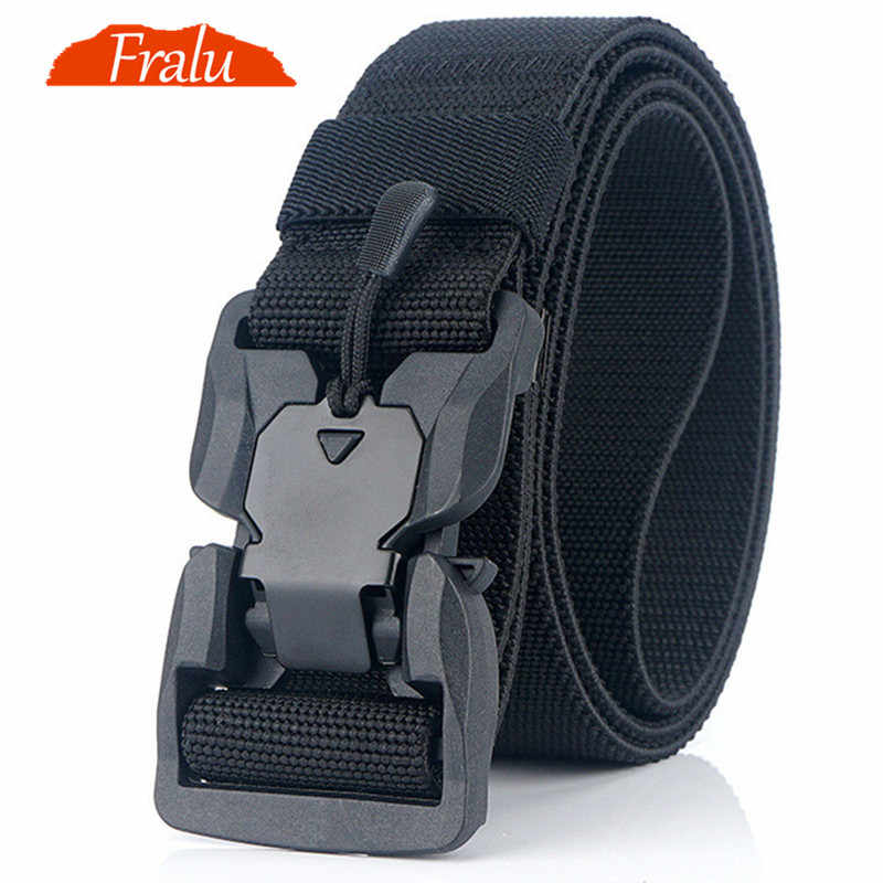 NEW Military Equipment Combat Tactical Belts for Men US Army Training Nylon Metal Buckle Waist Belt Outdoor Hunting Waistband