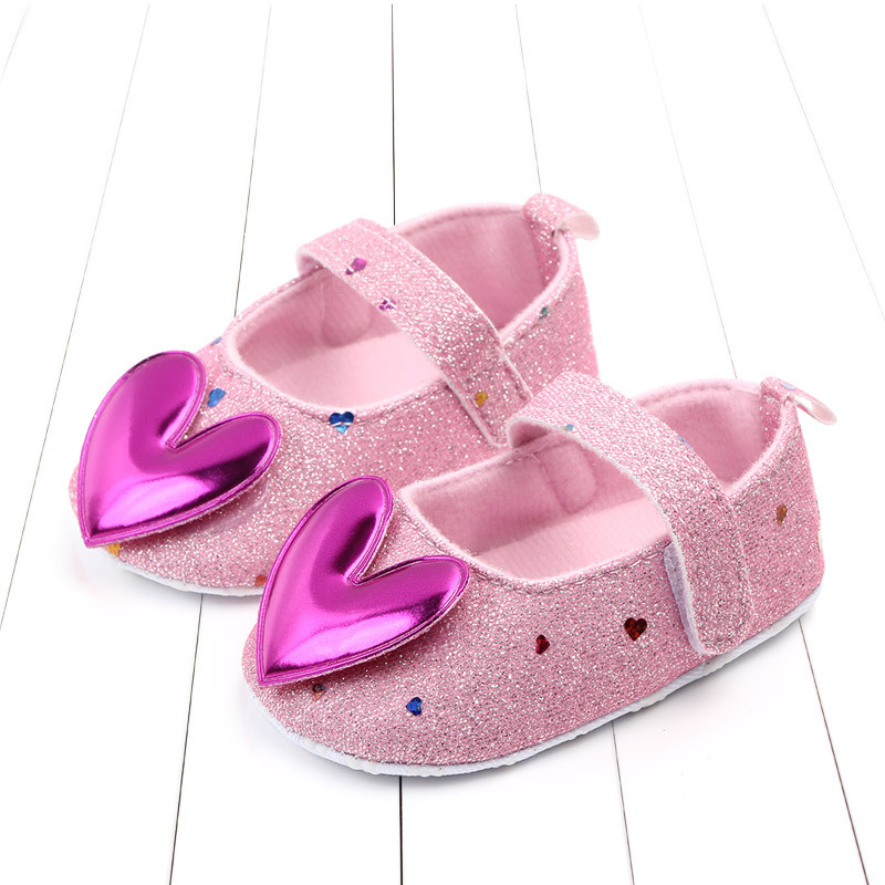 Fashion Baby Shoes Baby Girls Princess Shoes Sequins Infant Soft Sole First Walkers PU Leather Soft Bottom Toddler Shoes 2019