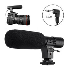 Универсальный 35 мм mic 01 Запись Микрофон внешний стерео микрофон