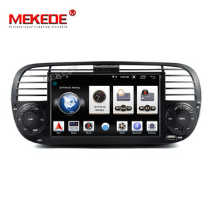 Image 5 - 2G RAM Android 9.0 Car DVD Player Multimedia For FIAT 500 GPS Navigation Audio 4G Wifi DAB+BT TPMS