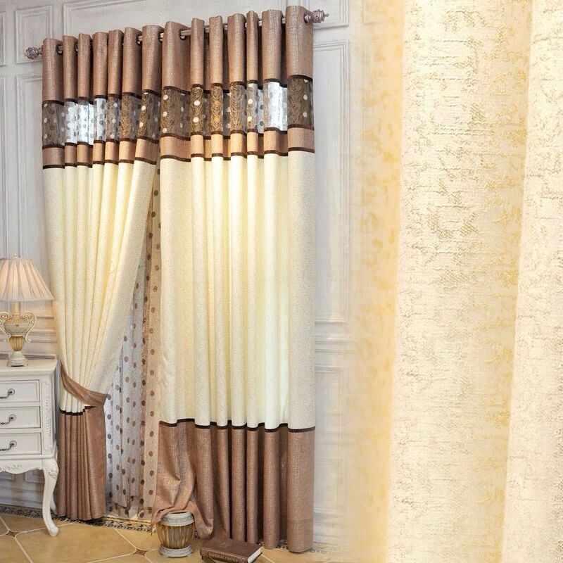 中国スタイルの高品位シェニールステッチ鳥の巣シェーディングリビングダイニングルームベッドルーム。
