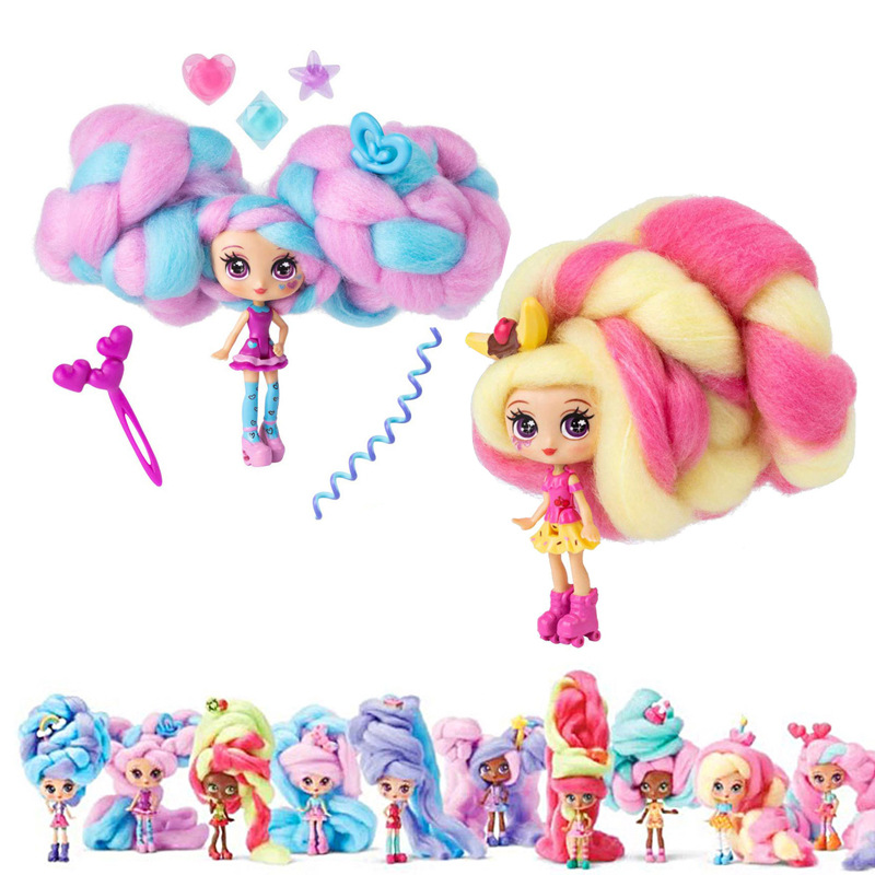Sweet Treat Toy Dolls For Candylocks Kids Girls Marshmallow 30cm Hair Surprise Hairstyle With Scented Doll For Christmas Gifts