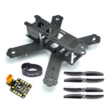 Mini QAV210 210mm 210 Reinem Carbon Fiber Quadcopter Rahmen Kit Für LS 210 QAV210
