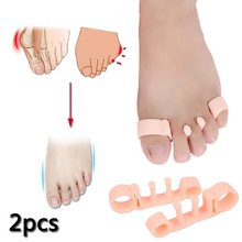 Nieuwste 2 STUKS Multifunctionele Hallux Valgus Voet Tenen Separator Gel Teen Bunion Corrector Shield Orthopedische Braces(China)