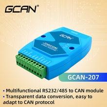 Gcan 207 rs232 rs485 интерфейс can bus модуль преобразователя