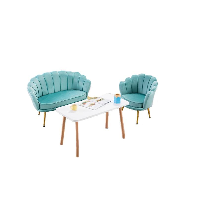 Single Lazy Sofa Nordic Light Luxury Single Net Red Female Makeup Bedroom Small Stool Back Balcony Leisure Chair