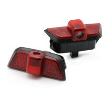 2 шт автомобильная светодиодная подсветка двери для mercedes