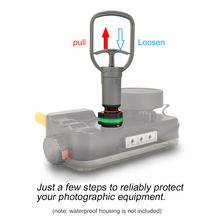 Seafrogs VPS 100 VP 100 Waterdichte Vacuümpomp Test Systeem Voor Onderwater Behuizing Case Lek Controleren Systeem M14 M16 Connect Adapter