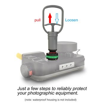 Seafrogs VPS-100 VP-100 pre-dive System kontroli szczelności podwodnej akcesoria fotograficzne pompa do obudowy do nurkowania tanie i dobre opinie HuWANG