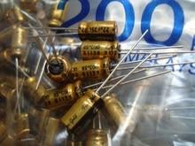20 pces nichicon fg 35v22uf 6.3x11mm ouro fino 22 uf 35 v finegold 22uf35v muse capacitor de áudio 22 uf/35 v