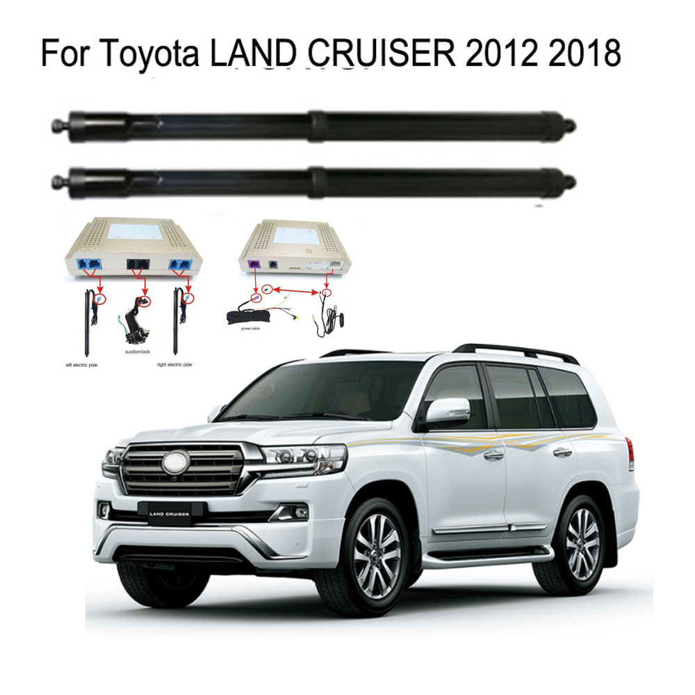 New Electric Tailgate Refitted For Toyota LAND CRUISER Tailgate 2012 -Tail Box Intelligent Electric Tail Door Power Lift Lock