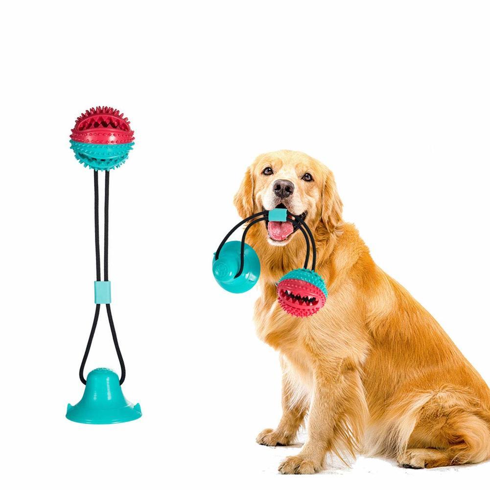 Haustier Hund Molaren Biss Spielzeug Mit Saug Pup Schlepper Sicher Hunde Reinigung Zahnb rste Stick Bei