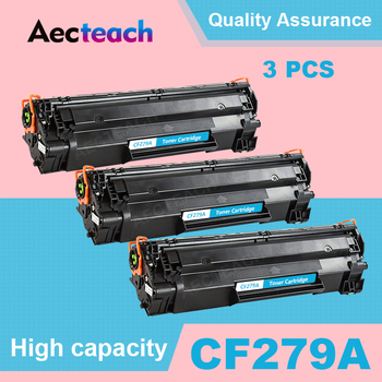 Aecteach 3 Pcs Compatible for HP79A 79A 79 CF279A Toner Cartridge for HP LaserJet Pro M12 M12w M12a MFP M26nw M26 M26a Printers