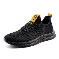 Новинка; черные дышащие спортивные кроссовки для бега; Мужские дышащие сетчатые кроссовки для отдыха на открытом воздухе; спортивные Неско...