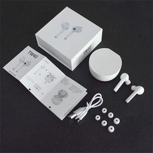 Image 5 - DAG TW40 TWS Wireless Bluetooth 5.0 หูฟัง Super BASS 6D 3D HIFI ชุดหูฟังสเตอริโอแฮนด์ฟรีกีฬา Dual หูฟังในตัว HD