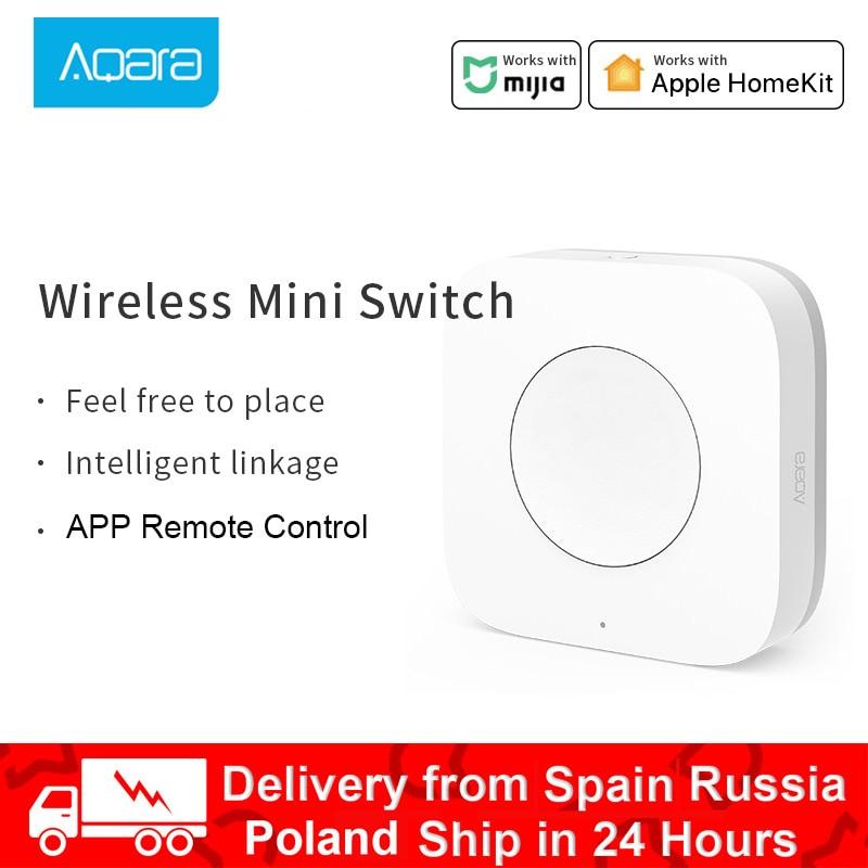 Aqara Mini Switch Key Smart Wireless Remote One Key Control Multi-Functional Intelligent Remote Control ZigBee Wifi