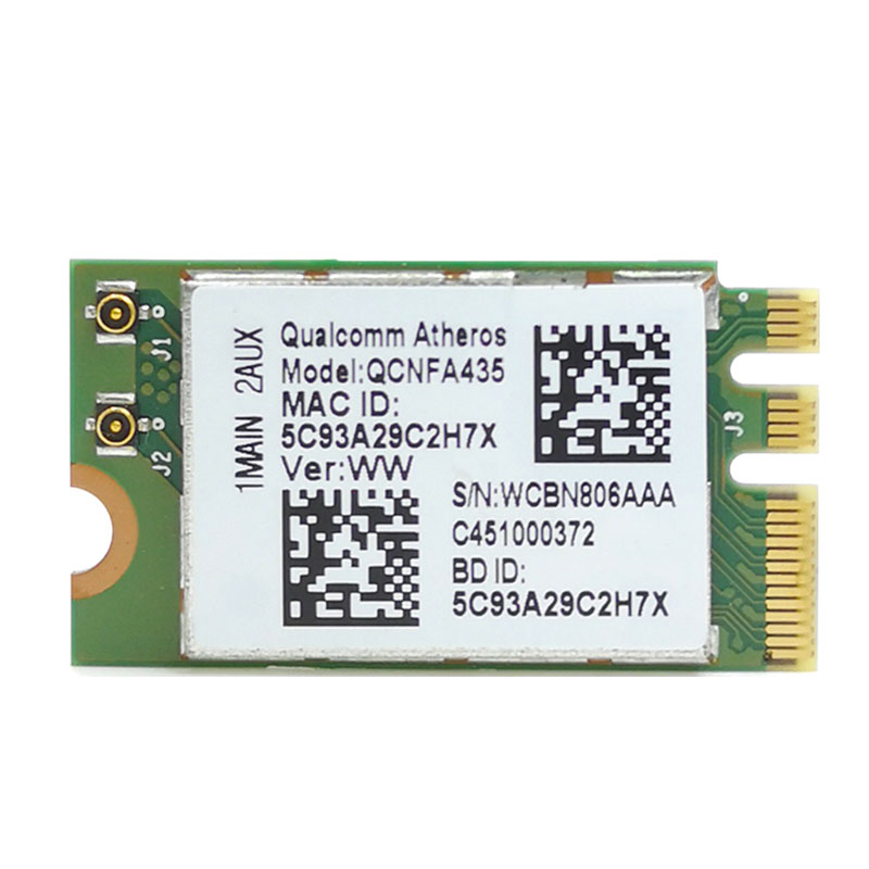 Wireless Adapter Card for Qualcomm Atheros QCA9377 QCNFA435 802.11AC  2.4G/5G NGFF WIFI CARD Bluetooth 4.1|Network Cards| - AliExpress