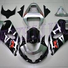 Пластик Обтекатели GSX R 600 2002 набор для всего тела GSX-R600 02 03 мотоцикл обтекатель GSXR 750 2000-2003 K1 K2