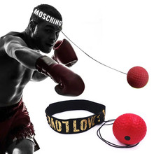 Boxing Reflex Speed Punch Ball MMA Sanda Raising Reaction Hand Eye Training Gym Muay Thai Fitness Exercise Boxe Accessories