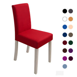 Chair-Cover Spandex Elastic Wedding Dining-Furniture Party 11color for Multifunctional