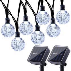 4 formas led solar luzes de fadas à prova dwaterproof água guirlanda string luz corrente gerlyanda para o natal ao ar livre decoração do jardim