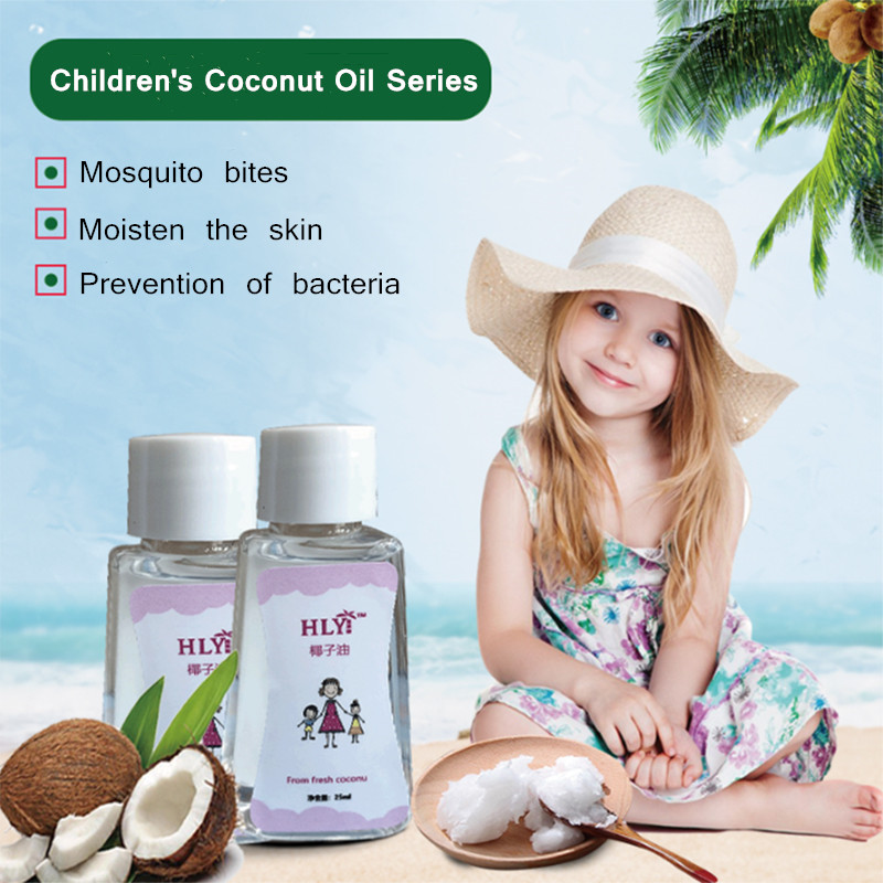 100% Coconut Oil Anti-mosquito Itching Swollen  Sterilization 25ml Essential Oil For Baby And Kid