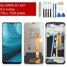 Für OPPO A7 lcd AX7 Display touchscreen digitizer montage mit rahmen lcd panel für OPPO bildschirm ersatz reparatur teile