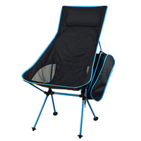 Outdoor Ultralight Folding Stool Moon Chair Garden Furniture Aluminum Tools Camping Portable Beach Hiking Seat Fishing Chairs