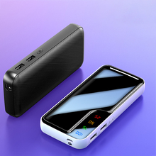 Mini Pover Bank 10000mAh LED Display Powerbank External Battery Poverbank Fast Charging Power Band Case Dual USB for Xiaomi IP