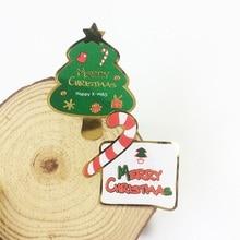 80 Pcs/lot Mixed Merry Christmas Tree Crutch DIY Multifunction Seal Sticker Gift Baking Packaging Label Decration Scrapbook