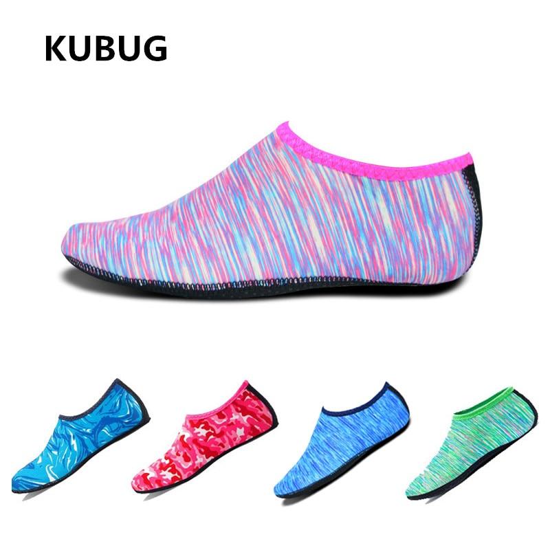 New KUBUG Swimming Beach Socks Anti-slip Breathable Snorkeling Shoes Yoga Diving Surfing Socks Seaside Barefoot Socks Unisex